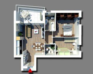 vista appartamento giulianova 1